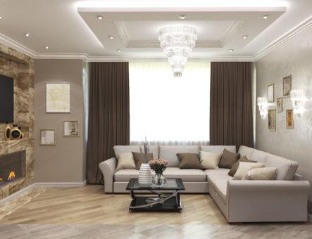 Проект трехкомнатной квартиры, г. Раменское, ЖК «Зеленая околица»