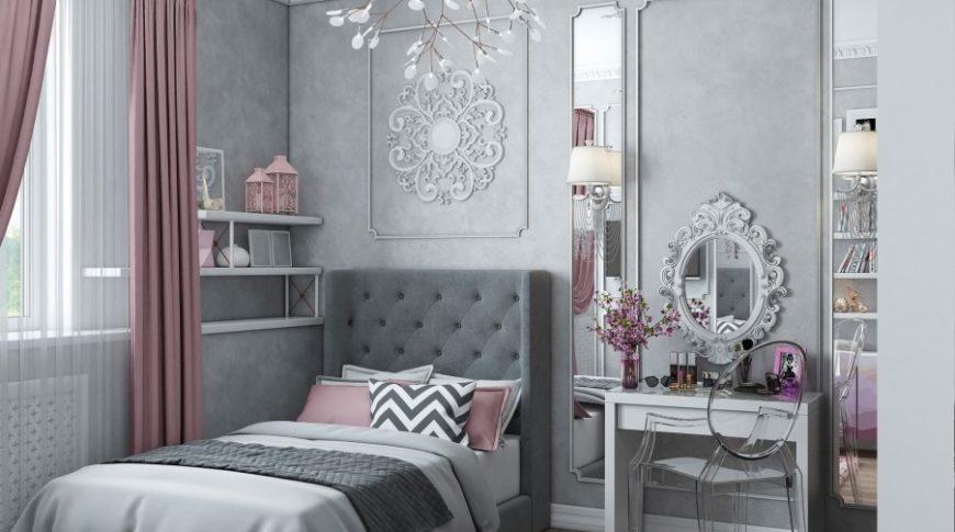 Дизайн и интерьер детской комнаты для девочки
