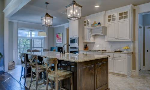Дизайн кухни – кухня и столовая в одном флаконе