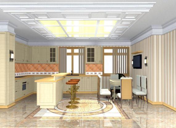 Проект коттеджа в г.Солнечногорске Московской области