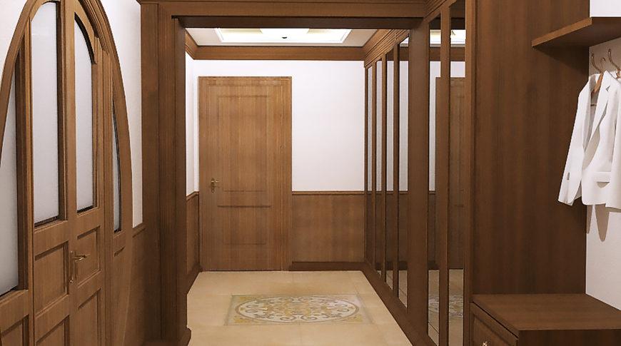 Дизайн-проект 3-х комнатной квартиры в Москве ул. Инициативная, д.7