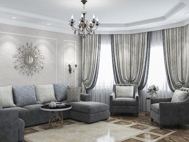 Значение текстильного дизайна и пошива штор в оформлении интерьера