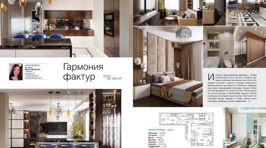 публикация в журнале Красивые квартиры