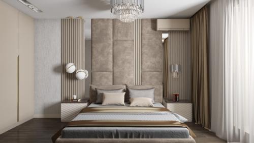 Спальня-вид-на-кровать-панно-над-кроватью
